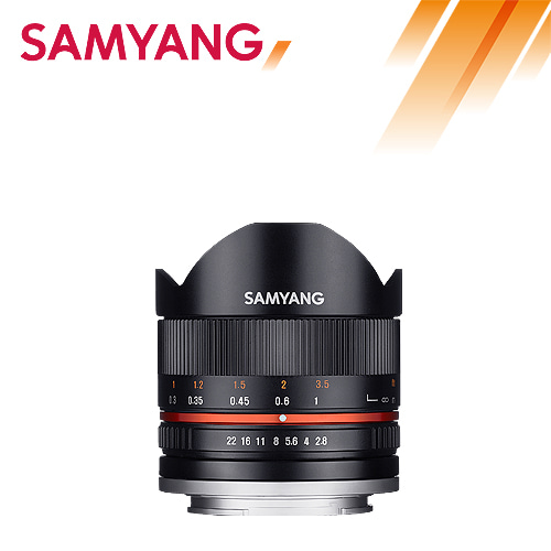 Samyang F2.8 8mm UMC FISH EYE II