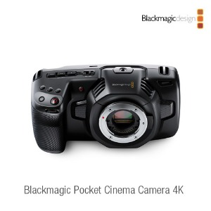[블랙매직 디자인] Blackmagic Pocket Cinema Camera 4K